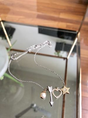 Fossil brand charm necklace, woman's jewelry for Sale in Seattle, WA