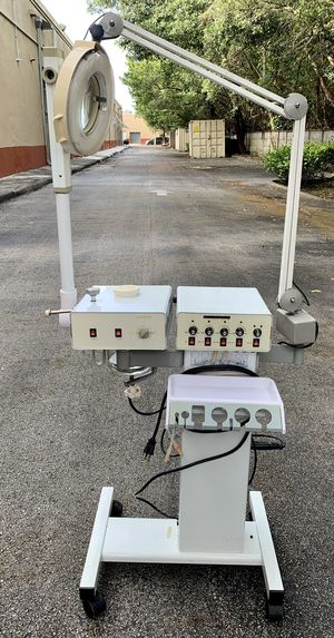 9-1 Facial Machine with tools for Sale in North Miami Beach, FL