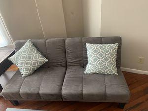 Brand new sofa/futon-grey for Sale in Cincinnati, OH