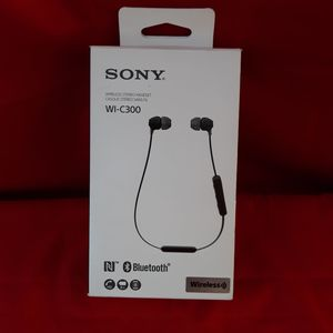 Sony WI-C300 Bluetooth Wireless In-Ear Earphones with Mic for Sale in Plano, TX