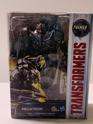 Hasbro Transformers The Last Knight Megatron Premiere Edition Voyager Class for Sale in Los Angeles, CA