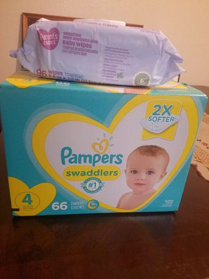 Pampers and Wipes for Sale in Everett, WA