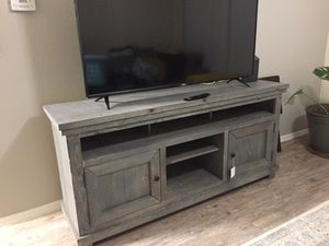 """64"""" distressed blue Tv stand for Sale in Glendale, AZ"""