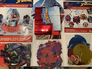 Spider-Man Party Decorations for Sale in Winter Haven, FL