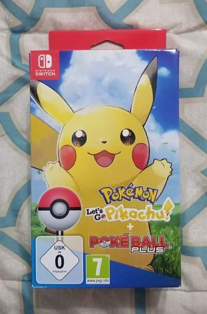 Pokemon Let's Go Pikachu Plus With Poke Ball for Sale in Fraser, MI