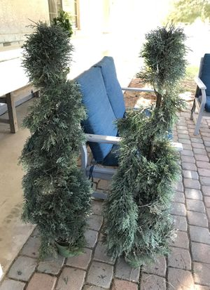 Faux evergreen topiaries for Sale in Gilbert, AZ