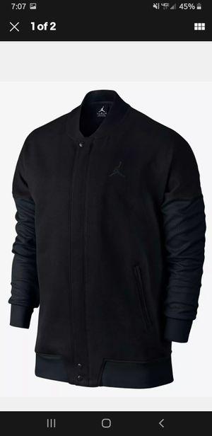 NIKE JORDAN VARSITY BUTTON DOWN JACKET BLACK 706735-01 I MENS SIZE XL for Sale in Cabot, AR