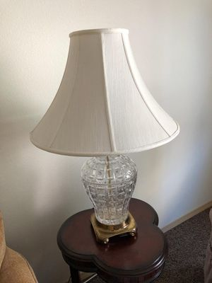 Lovely crystal lamp for Sale in Seattle, WA