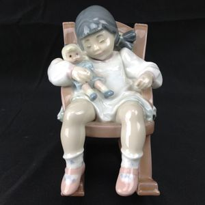 Lladro #5448 Naptime Girl Sleeping Figurine - MINT in BOX for Sale in Indian Rocks Beach, FL