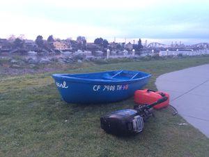 Spunky little blue boat for Sale in Orinda, CA
