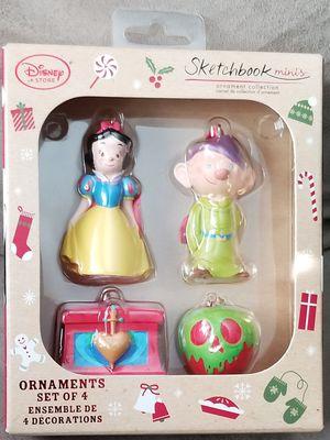 Disney Snow White & the Seven Dwarfs Sketchbook Miniature/Mini Ornament Set for Sale in La Presa, CA