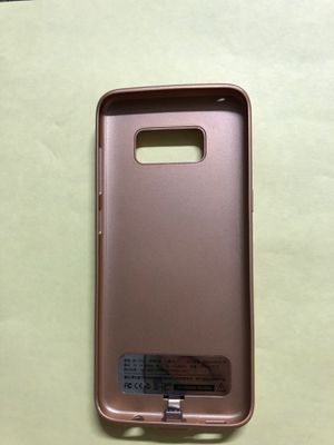 Galaxy S8 battery charger case for Sale in Claremont, CA
