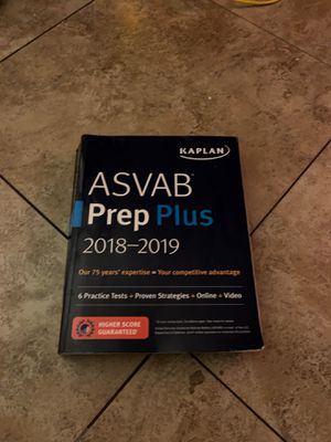 2018-2019 asvab book for Sale in Whittier, CA