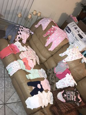 Newborn baby clothes!! Any 6 for $25!!! for Sale in Tampa, FL