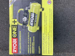 Ryobi 18V 1 Gallon Compressor for Sale in Revere, MA