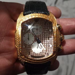 Auqa Master Diamond Watch for Sale in Phoenix, AZ