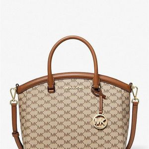 New Authentic Michael Kors Large Logo Satchel Bag for Sale in Bellflower, CA