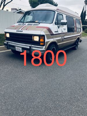 1992 dodge b250 conversion van for Sale in West Covina, CA