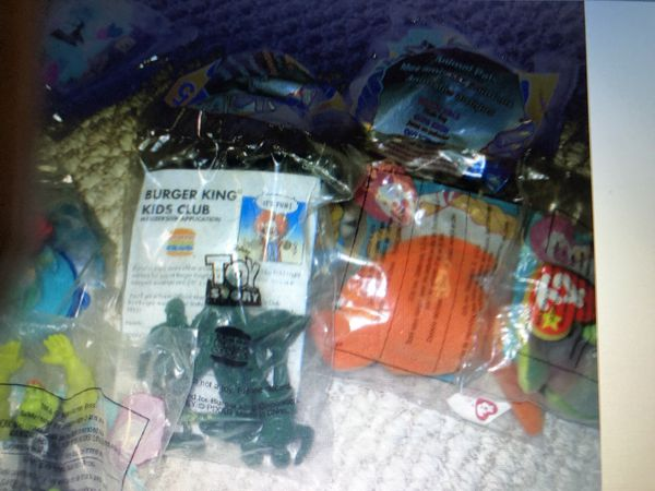 Old happy meal toys