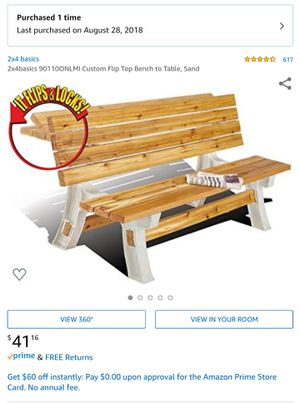 Legs for Outdoor bench furniture for Sale in Hayward, CA