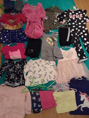 Clothes for girl size 5 20 items all for $45 South la 90043 for Sale in Windsor Hills, CA