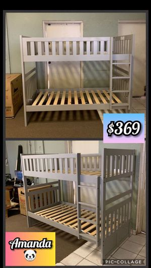 Twin over twin bunk bed for Sale in Glendale, AZ