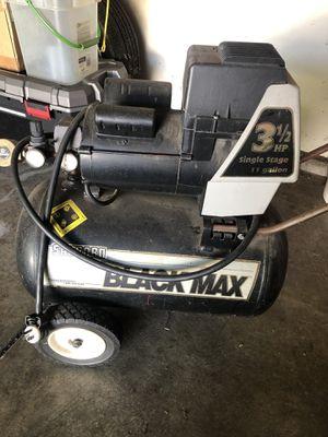 Black max air compressor for Sale in Martinez, CA