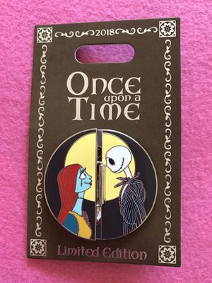 Disney Jack and Sally Pin for Sale in Chula Vista, CA