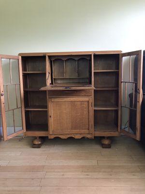 Antique secretary Desk and bookshelf for Sale in Fort Lauderdale, FL