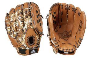 Adidas Youth TS1050BDC 10.5'' Brown Camo Baseball Glove Easy Close for Sale in Turlock, CA