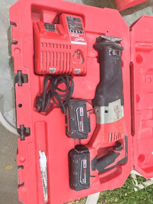 saw zall 18 V 2 red lithium Battery for Sale in Fairfax Station, VA