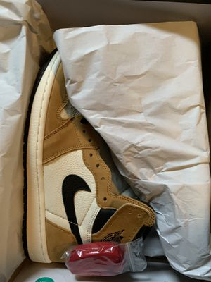 Air Jordan retro 1 high og golden harvest sz 10 for Sale in Homewood, IL