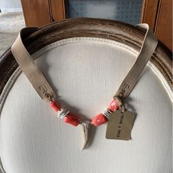 Twine & Twig Classic Antler Necklace (NEVER WORN) for Sale in Chicago,  IL