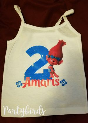 Trolls birthday shirt for Sale in Bakersfield, CA