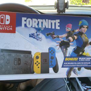 New Nintendo Switch™ Fortnite Wildcat Bundle for Sale in Fort Lauderdale, FL