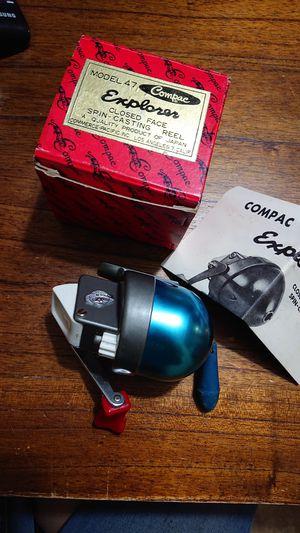 NIB VINTAGE Compac #47 Explorer Fishing Reel for Sale in Vacaville, CA