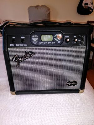 FENDER GDEC AMP. 50. OR TRADE FOR BASS GUITAR for Sale in Avon, MA