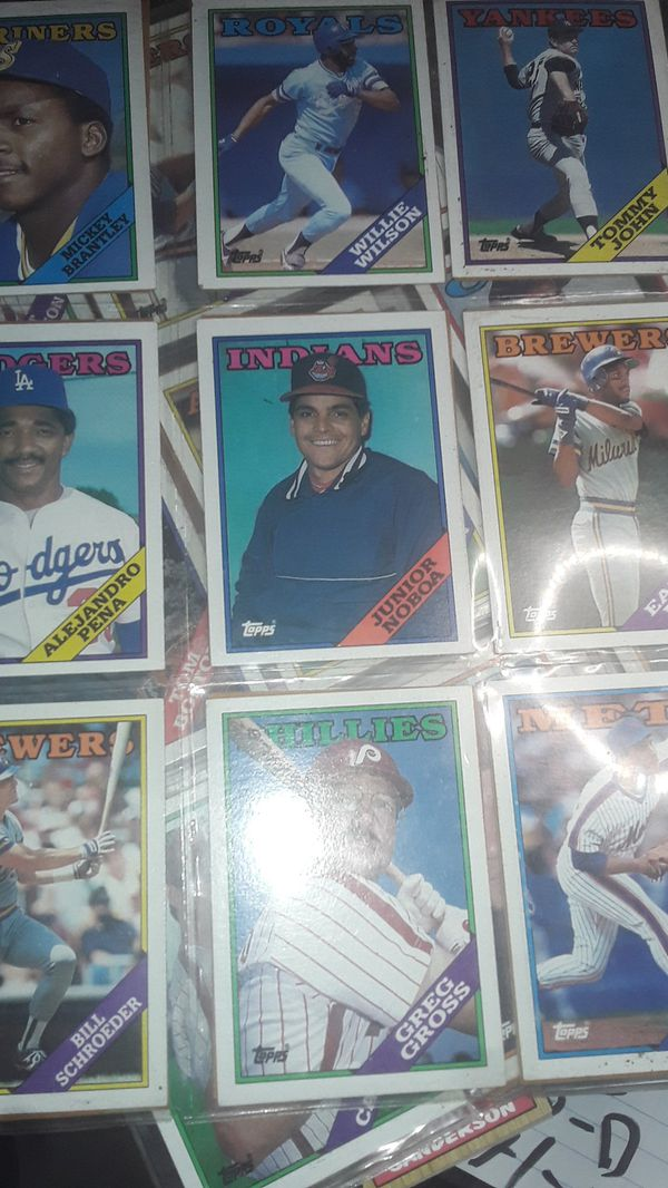 Topps baseball card colection