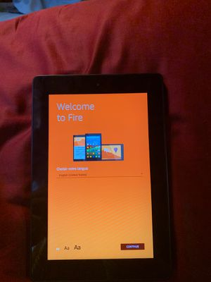 Amazon fire tablet for Sale in Hurst, TX