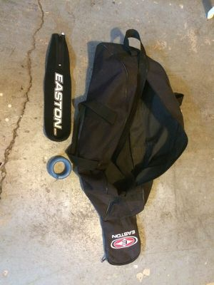 Baseball bag weight and a bat cover for Sale in Columbus, OH
