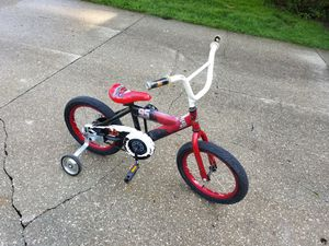 Boys Cars 16 in bike for Sale in Solon, OH
