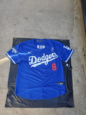 Dodgers kobe jerseys ws patch $60 sm-3x for Sale in Pomona, CA