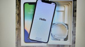 Apple iPhone X 256GB (Silver) for Sale in Nicholasville, KY