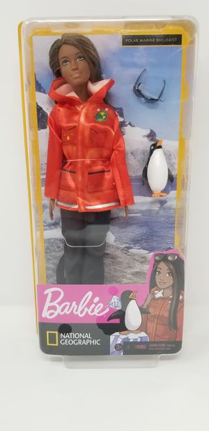 Career Barbie National Geographic AA Polar Marine Biologist You can be anything for Sale in Margate, FL