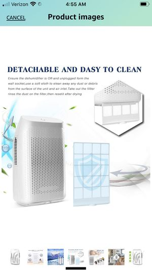 Afloia Portable Dehumidifier new in box Check out pictures for more description please ask any questions for Sale in Redlands, CA