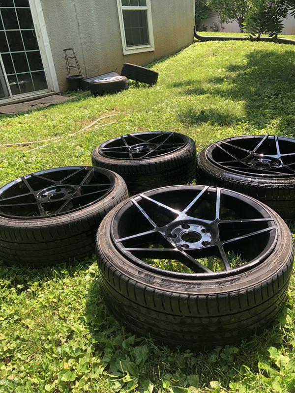 Whistlers KR5 Wheels