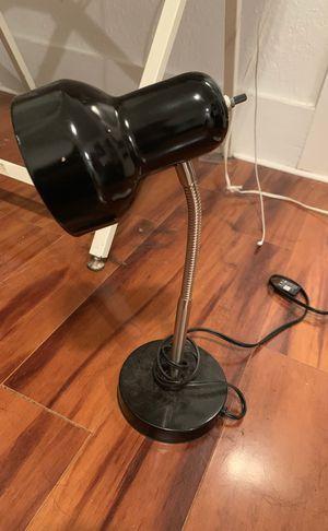 Black desk lamp for Sale in Portland, OR
