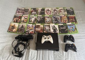 """TV 32"""" + Xbox 360 120 GB HDD with Kinect, controls e games. for Sale in Miami, FL"""