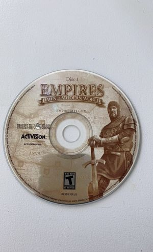 Empires Dawn of the Modern World PC Game for Sale in Millsboro, DE