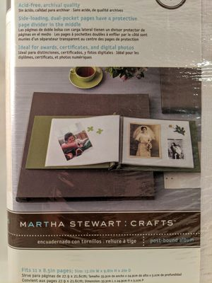 Brand New Martha Stewart Photo Album for Sale in Kansas City, MO